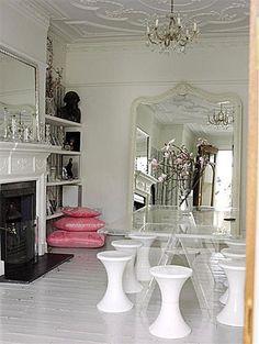 Inspirações em #transparência para a #decor da casa. #totalmentedecor #decor #decoração #design