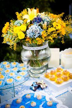 Blog Vida Nova Noiva: Paleta de Cores | Amarelo e Azul