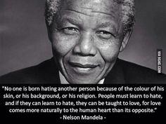 El odio no nos viene de nacimiento, pero el afecto sí. Cómo nos cuesta aceptarlo.