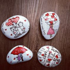 80 romantic valentine painted rocks ideas diy for girl 78 – Fitness Tips for Everyone Pebble Painting, Love Painting, Pebble Art, Rock Painting Ideas Easy, Rock Painting Designs, Stone Crafts, Rock Crafts, Valentine Decorations, Valentine Crafts