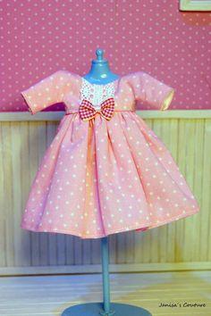 Vestido Blythe Doll Clothes, Couture, Summer Dresses, Vintage, Etsy, Sweet, Fashion, Vestidos, Blythe Dolls