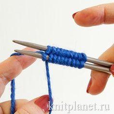 МАГИЧЕСКИЙ НАБОР ПЕТЕЛЬ ДЖУДИ для вязания спицами носков от мыска. Но этот способ можно с успехом применять и для вязаниямногих других изделий по кругу: варежек от мыска, сумок, шапок и т. д.