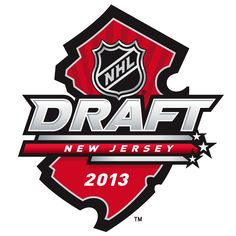 NHL Draft Primary Logo on Chris Creamer's Sports Logos Page - SportsLogos. A virtual museum of sports logos, uniforms and historical items. Nhl Logos, Sports Logos, Language Logo, French Logo, Nfl Highlights, Hockey Pictures, Los Angeles Kings, Edmonton Oilers, Game Logo
