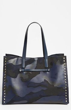 Valentino 'Rockstud - Camo' Tote | Nordstrom - I mean, honestly, is there anything Valentino makes that doesn't look like me?