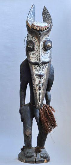 Sepik Statue Papouasie Nouvelle Guinée Papua NEW Guinea ART Océanien Oceanic…