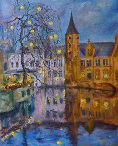 Soir à Bruges, Dimitri Sinyavsky