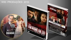 Em Nome Da Lei - DVD - ➨ Vitrine - Galeria De Capas - MundoNet | Capas & Labels Customizados