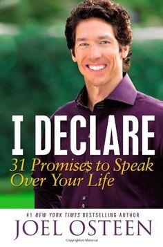 joel osteen books   Joel Osteen's new book, I Declare: 31 Promises to Speak Over Your ...