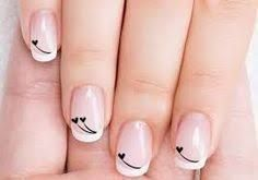 Even if you only have a short nails, you still need to style them. Actually, short nails are easier to maintain. So, if you are interested in nail art, check out these 10 trendy nail art designs for short nails below to beautify your short nails. Nail Designs 2017, Valentine's Day Nail Designs, Cute Nail Art Designs, Nails Design, Acrylic Nail Art, Acrylic Nail Designs, Black Nail Art, Trendy Nail Art, Super Nails