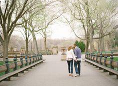 central park, poets row