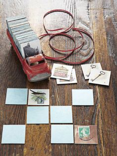 Love this idea! How to make a custom memory card game. From @Cathe Holden