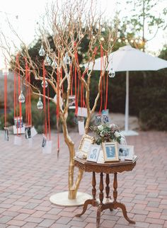 Navy & Orange Hummingbird Nest Ranch Wedding - Inspired by This