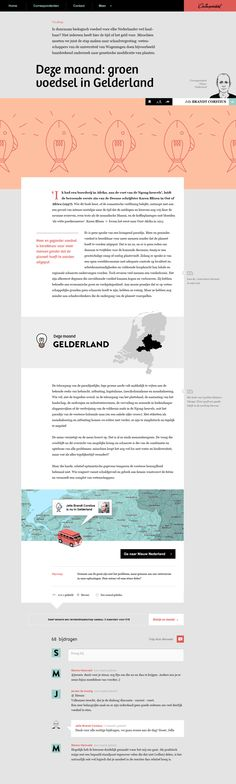 New Netherlands by Momkai, via Behance