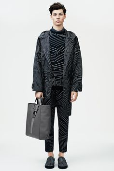 Menswear Spring Summer 15 | Christopher Kane Fashion Week, Milan Fashion, Street Fashion, Spring Fashion, Fashion Show, Mens Fashion, High Fashion, Fashion Design, Christopher Kane