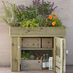 Veg Box: I love coming home on a Wednesday to find my veg box waiting, and I think this storage cabinet is pretty cool.