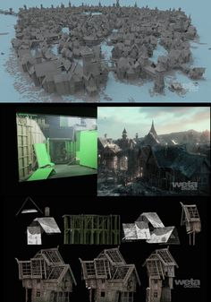 Learn how Weta has built Laketown in The Hobbit: The Desolation of Smaug, from…