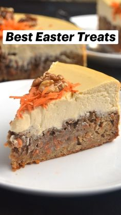 Carrot Cake Cheesecake, Carrot Cake Muffins, Best Carrot Cake, Cheesecake Recipes, Healthy Desserts, Delicious Desserts, Healthy Takeaway, Healthy Recipes, Healthy Treats