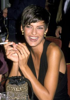 Linda Evangelista // See our other favourite celebrity bad girl moments