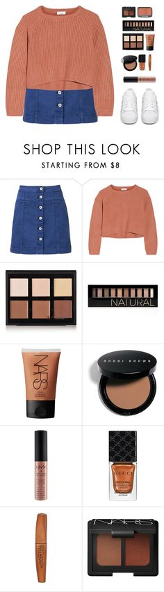 """Progression"" by bb123456789 ❤ liked on Polyvore featuring Witchery, Brunello Cucinelli, Anastasia Beverly Hills, Forever 21, NARS Cosmetics, Bobbi Brown Cosmetics, Gucci, Rimmel and adidas Originals"