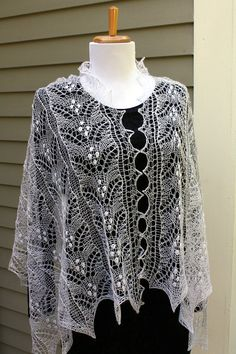 Knitted Shawl, Estonian Lace