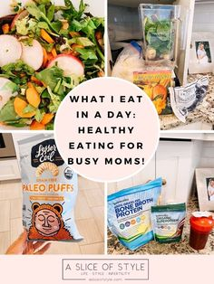 Top US lifestyle blogger A Slice of Style is Sharing her Food Diary as a Busy Mom. I've shared a lot lately about my health journey with Epstein Barr, and I've gotten a lot of questions about what I eat in a typical day! Healthy eating has helped a lot to make me feel much better.