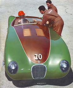 jacqalan:  Jaguar XK-120C .Golden Gate Park Race 1953