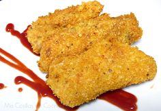 Filetes de pescado crujiente - Mis Cosillas de Cocina Tempura, Latin Food, Dessert Recipes, Desserts, Fish And Seafood, Quinoa, Tapas, French Toast, Breakfast