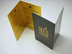 Check out these custom foil business cards.