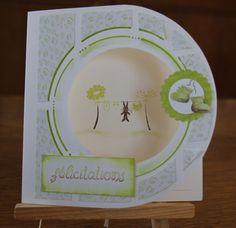 carte félicitations théma naissance AZZA