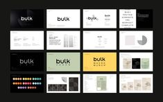 Brand New: New Logo, Identity, and Packaging for Bulk by Robot Food