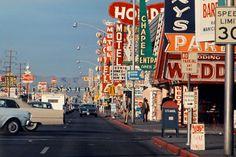 Las Vegas strip 1965