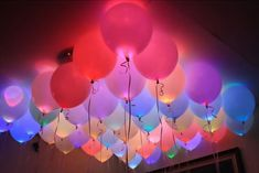 LED Colour Balloons  They last up to 20 hours and can be switched off individually. #Party
