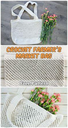 Crochet Farmer's Market Bag Free Pattern
