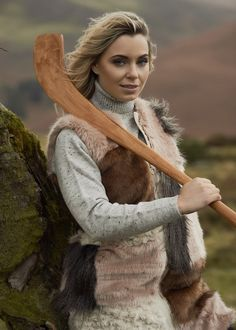 Anna Geary and Jackie Tyrrell helped us launch our new sponsorship of the GAA Hurling All-Ireland Championship & Camogie League with a secret shoot in the Wicklow Mountains. Ireland, Anna, Product Launch, Mountains, Fashion, Moda, Fashion Styles, Irish, Fashion Illustrations