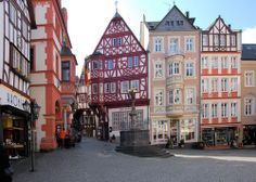 Bernkastel-Kues Marktplatz: Bernkastel-Kues, Germany. There are few more enjoyable places to sit, people-watch and enjoy a chilled glass of Mosel wine on a summer day than by the Spitzhäuschen in the town square.
