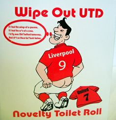 I Hate Manchester United Ynwa Liverpool, Soccer Pictures, Wipe Out, Xmas Cards, Manchester United, Toilet Paper, Hate, The Unit, Sports