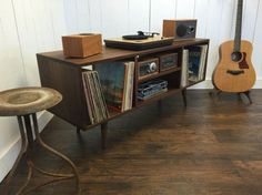 Image result for sideboard turntable