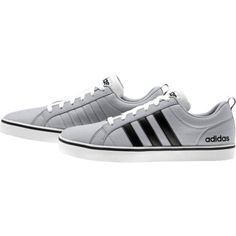 De adidas Pace v canvass is een sportieve schoen voor heren.