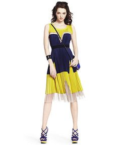 Loved this BCBG dress at Macy's.