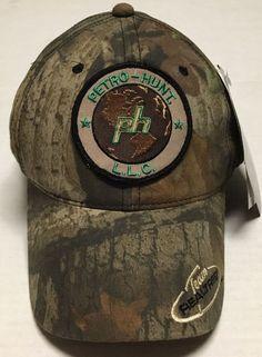 Petro Hunt Hat Oilfield Oil Gas Cap Dallas Texas Camo Hunting Petroleum  Realtree  OC   530edb28c596