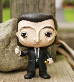 I these awesome repaints that LM Rourke did - Custom Supernatural Funko Pop Death Supernatural Fans, Supernatural Pop Figures, Funko Pop Supernatural, Funko Pop Figures, Pop Vinyl Figures, Pop Goes The Weasel, Custom Funko Pop, Funko Toys, Chibi