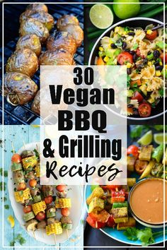 These vegan grilling recipes and grilling sides are perfect for your next BBQ! I… These vegan grilling recipes and grilling sides are perfect for your next BBQ! If you're looking for summer recipes, this is the perfect post for you! Find more vegan recipe Vegan Barbecue, Barbecue Chicken, Barbecue Sauce, Whole Food Recipes, Healthy Recipes, Fast Recipes, Keto Recipes, Healthy Food, Grilling Sides