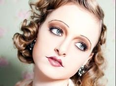 17 Best 20s Makeup Images Hair Makeup Artistic Make Up Hair Makeup - 20s-makeup