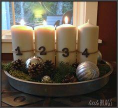Little Brags: A SIMPLE Little Christmas Tour