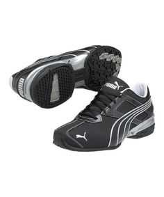 Take a look at this Black & Puma Silver Tazon 5 Cross-Training Shoe -