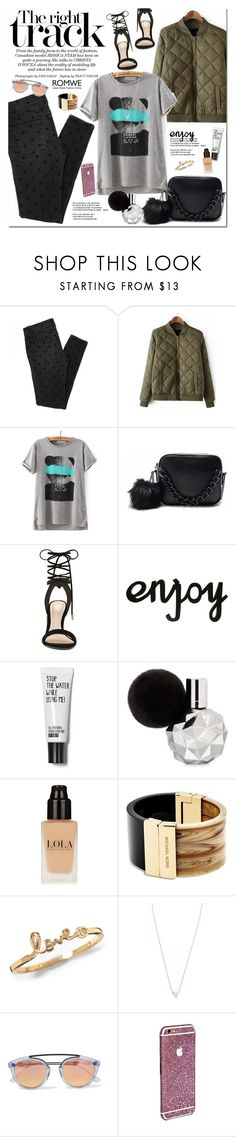 """""""Romwe"""" by oshint ❤ liked on Polyvore featuring ALDO, Michael Kors, Adina Reyter, Westward Leaning, women's clothing, women, female, woman, misses and juniors"""