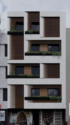 , You are in the right place about residential Architecture Here we offer you the most beautiful pictures about the Residential Building Design, Architecture Building Design, Building Facade, Modern Architecture House, Facade Design, Residential Architecture, Architecture Details, Exterior Design, Town Country Haus