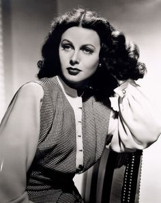 https://flic.kr/p/65iFQv | Hedy Lamarr Publicity Shot | The gorgeous and extremely multi-talented Hedy Lamarr: Actress! Screen Goddess! Inventor of Spread Spectrum Communications Technology!