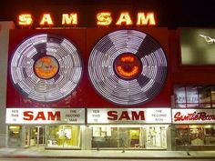 Sam the Record Man ~ Toronto Icon we all remember going to his record store in the Canadian Facts, Canadian Things, Vinyl Record Shop, Vinyl Records, Tara Strong, Yonge Street, The Rouge, Men Are Men, Amusement Park Rides