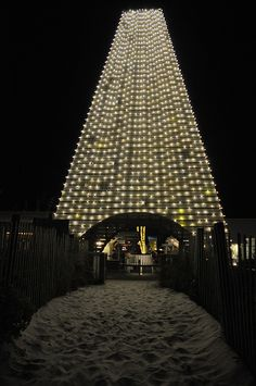THE OBE ~ {the Obelisk with Lights} ~ Coleman Pavilion - Seaside, Florida